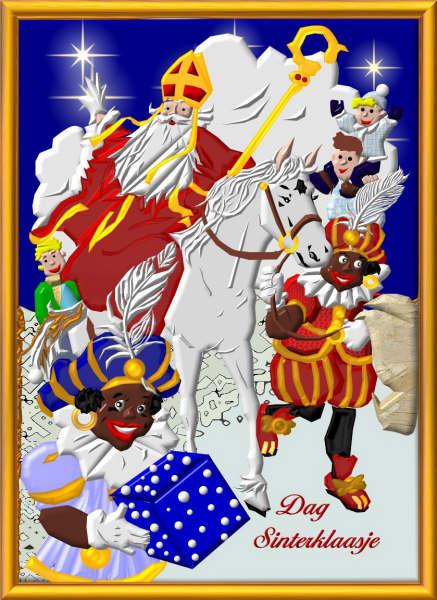 Sinterklaas Plaatjes Zwartepiet